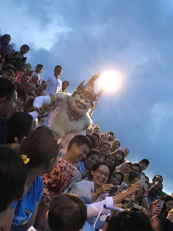 Kecak Dance- White Hanuman