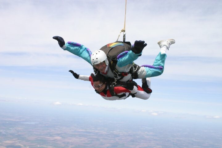 My Sky Dive Experience.