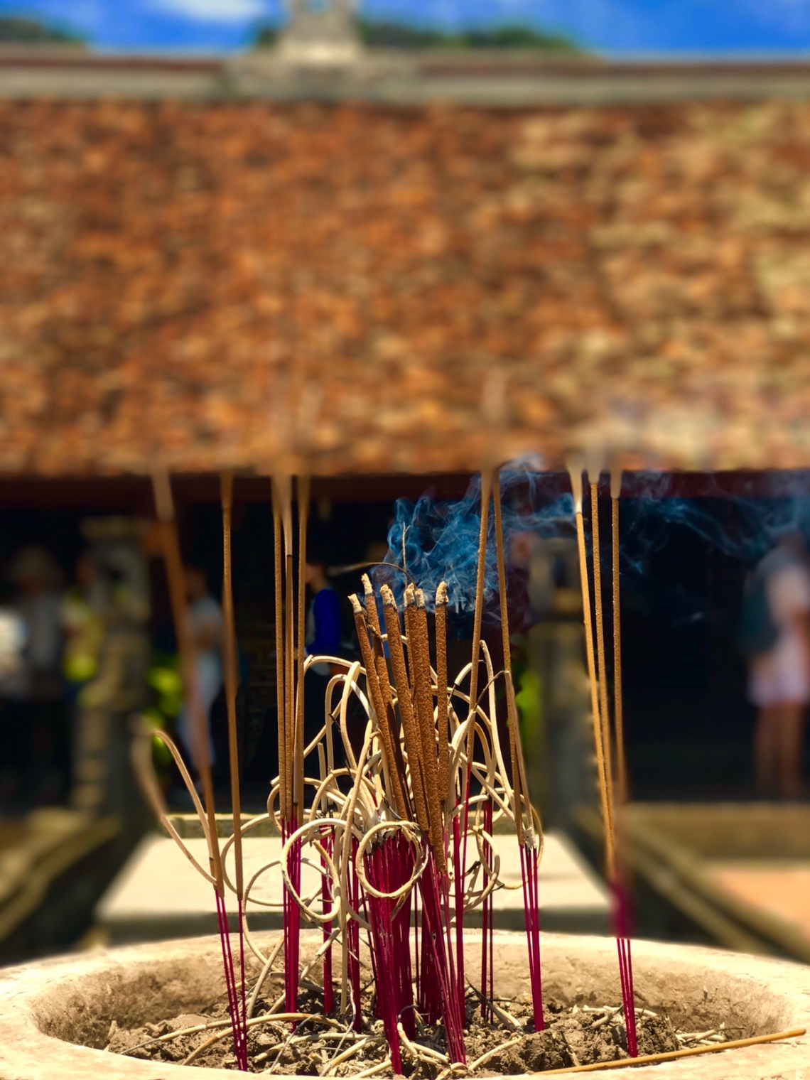 The Buring incense. Beautiful.