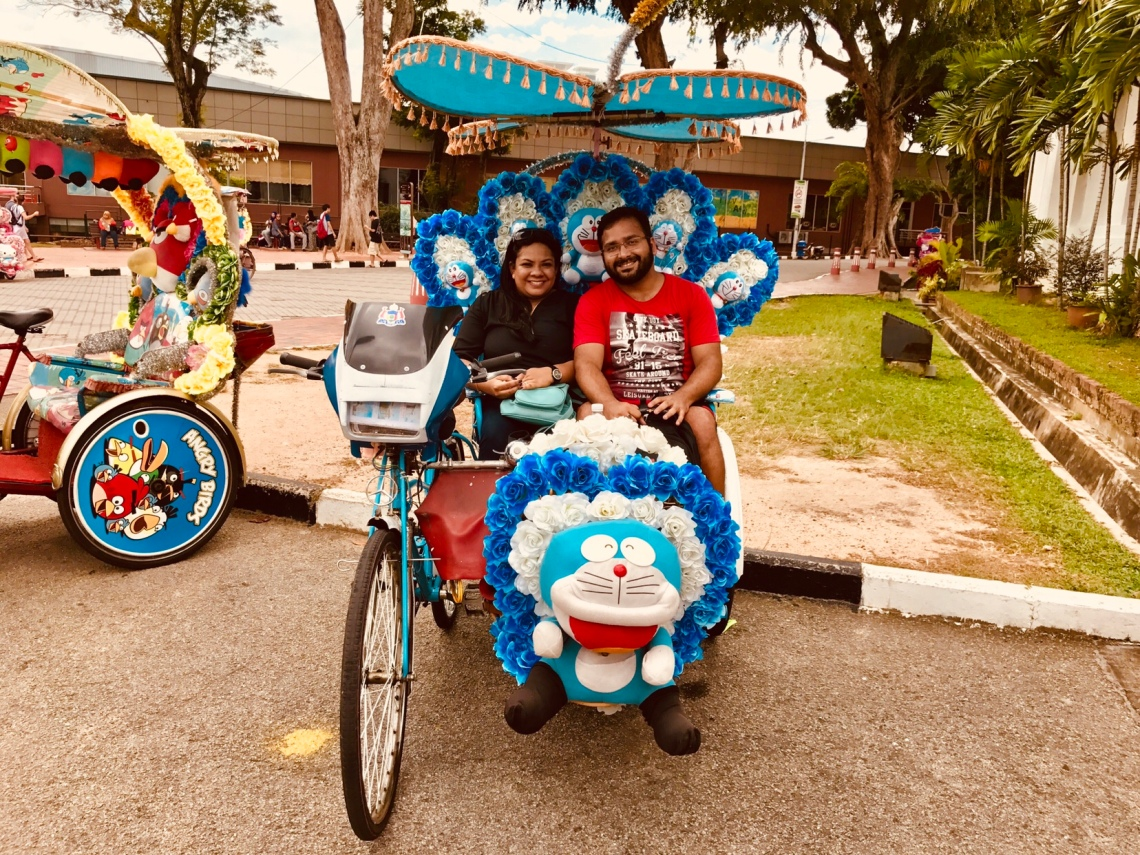 Our beautiful Doremon Trishaw.