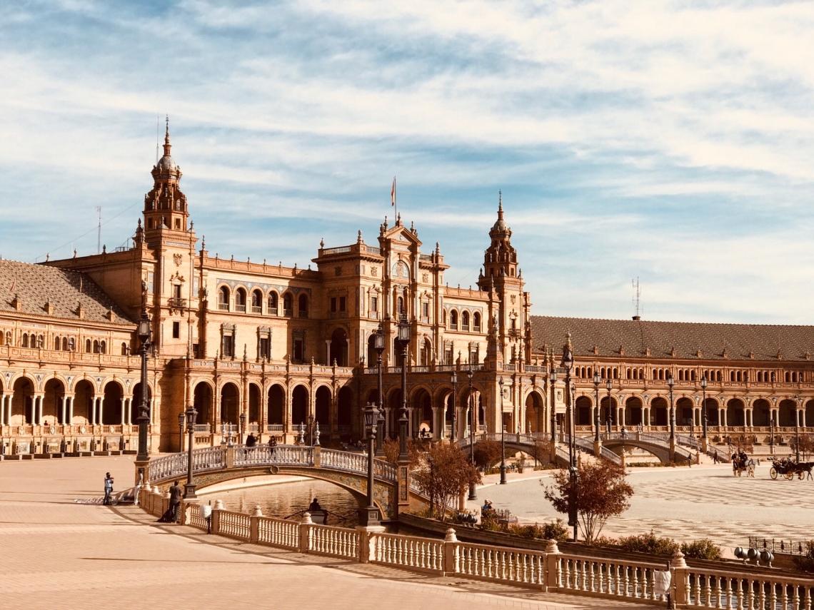 Seville Plaze de Espana- Very beautiful