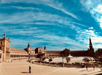 Seville Plaza de Espana.